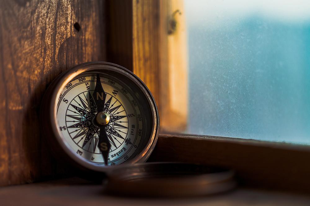 Kompass-Gewissen